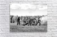 Civil War Re-enactment  Acrylic Print