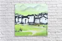 Zhongguo Cun - Chinese Village  Acrylic Print