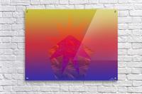 Polygon & Star V4  Acrylic Print