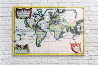Ancient World Map 4  Acrylic Print