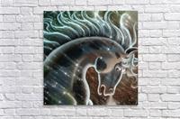 horse nature stallion equestrian  Acrylic Print