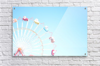 Ferris Wheel Against the Sky  Acrylic Print