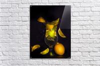 Fraicheur.   Impression acrylique