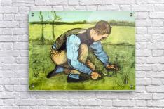 Cutting Grass by Van Gogh  Acrylic Print