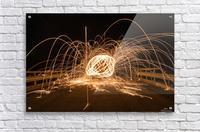 Spiral orb  Acrylic Print
