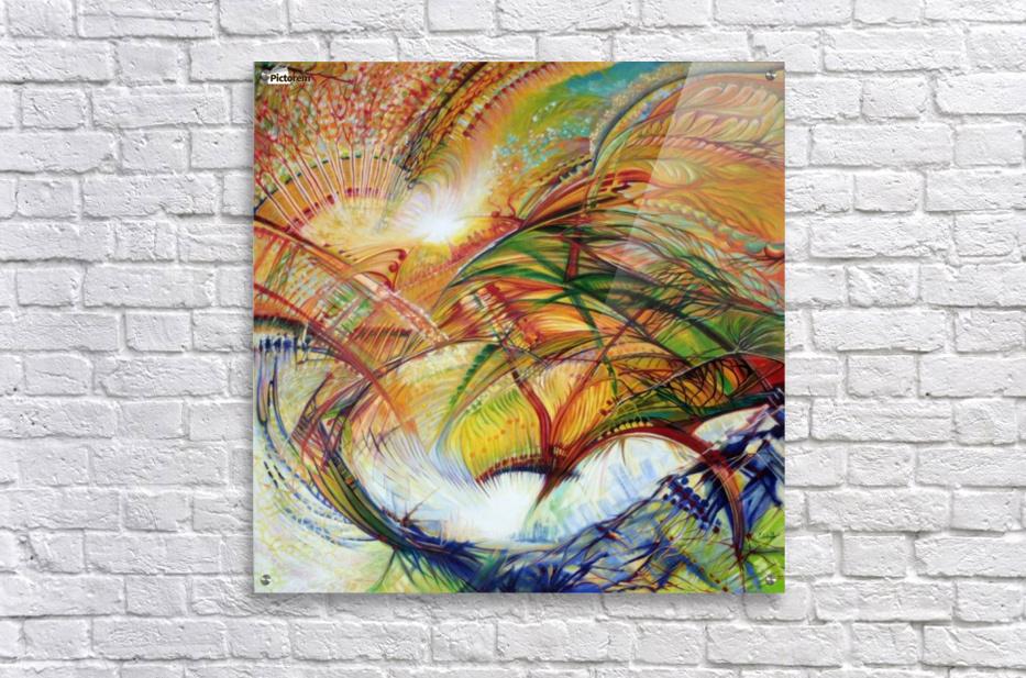 Feathers of the Phoenix  Acrylic Print