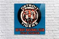 1963 Detroit Tigers Art   Acrylic Print