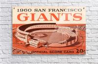 1960 San Francisco Giants  Acrylic Print
