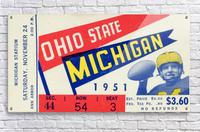 1951 Ohio State vs. Michigan  Acrylic Print