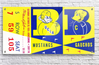 1955 UCLA  vs. Cal   Acrylic Print