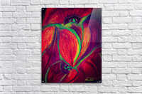 Electric Flowers  Acrylic Print