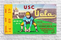 1952 USC vs. UCLA  Acrylic Print