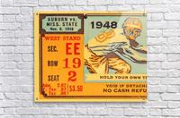 1948 Auburn vs. Mississippi State  Acrylic Print