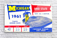 1961_College_Football_Ohio State vs. Michigan_Michigan Stadium_Ann Arbor_Row One Brand  Acrylic Print