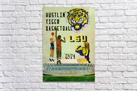 1973 Hustlin Tiger Basketball  Acrylic Print