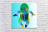 Alien Baby  Acrylic Print