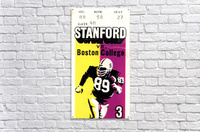 1979_College_Football_Boston College vs. Stanford_Palo Alto_Row One Brand College Art  Acrylic Print