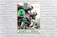 1957_National Football League_New York Giants vs. Philadelphia Eagles_Yankee Stadium_Row One Art  Acrylic Print