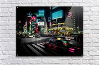 Shibuya Shuffle  Acrylic Print