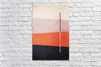 Shapes 06 - Abstract Geometric Art Print  Acrylic Print
