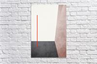 Shapes 04 - Abstract Geometric Art Print  Acrylic Print