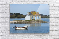 house saint Cado Bretagne  Acrylic Print