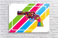 Python Handgun  Acrylic Print