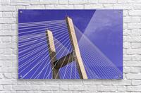 Talmadge Memorial Bridge   Savannah 04212  Acrylic Print