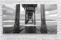 Scripps Pier in B&W  Acrylic Print