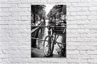 Amsterdam in a raining day  Acrylic Print