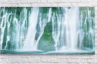 The Flowing Wall  Acrylic Print