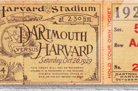 1929 Dartmouth vs. Harvard  Acrylic Print