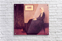 Whistlers Mother by James Abbot McNeill Whistler  Acrylic Print