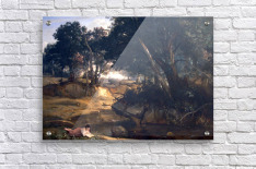 Forest of Fontainebleau by Corot  Acrylic Print