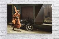 Varanasi Window - Pilgrim  Acrylic Print