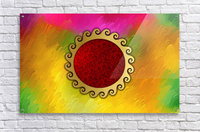 Signs of power and protection amulets sun  Acrylic Print