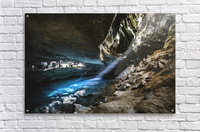 The Blue Cave  Acrylic Print