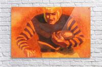 vintage football posters vintage football jersey old helmet poster_1586306536.6399  Acrylic Print
