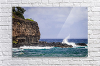 Kahili Beach   Kauai Hawaii 1035  Acrylic Print