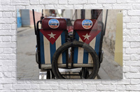 Cuban Bicycle Taxi  Acrylic Print