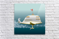 Imbarcazione Volante Dommo  Acrylic Print