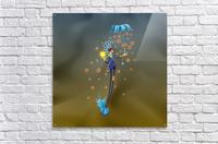 Noppo Ombrello Azure  Acrylic Print