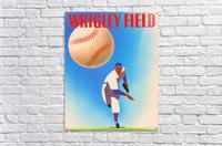 RowOneBrandWrigleyFieldArtRemixes_PublicDomainSportsArtRemixes_ChicagoCubsPoster  Acrylic Print