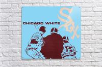 Chicago White Sox Baseball Poster Fine Art  Acrylic Print