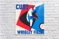 Cubs Wrigley Field Art  Acrylic Print