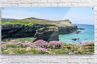 View of sea and rocks  Acrylic Print