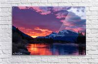Bow River Sunrise East  Acrylic Print