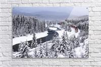 Morants Curve  Banff National Park  Acrylic Print