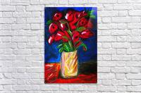 Red Cala Lilies  Acrylic Print