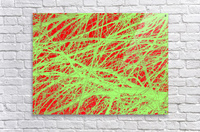 Tree-Line Drawing  Acrylic Print